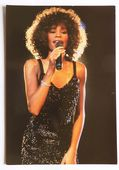 Whitney Houston - 'Singing' Postcard